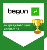 Netpeak — аккредитованное агентство Begun
